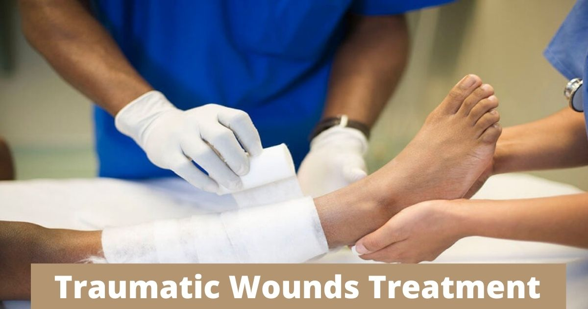 Symptoms, Causes, And Treatment Of Traumatic Wounds